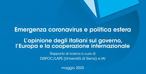 Italiani su governo, Europa e cooperazione
